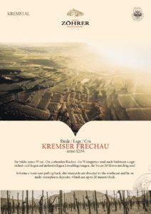 Weingut Zöhrer - Riede Kremser Frechau