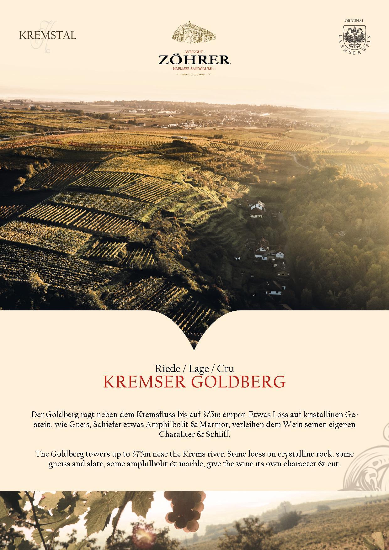 Weingut Zöhrer - Riede Kremser Goldberg