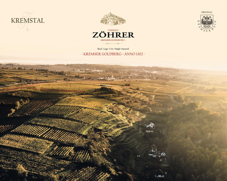 Weingut Zöhrer - Lagenfoto Kremser Goldberg