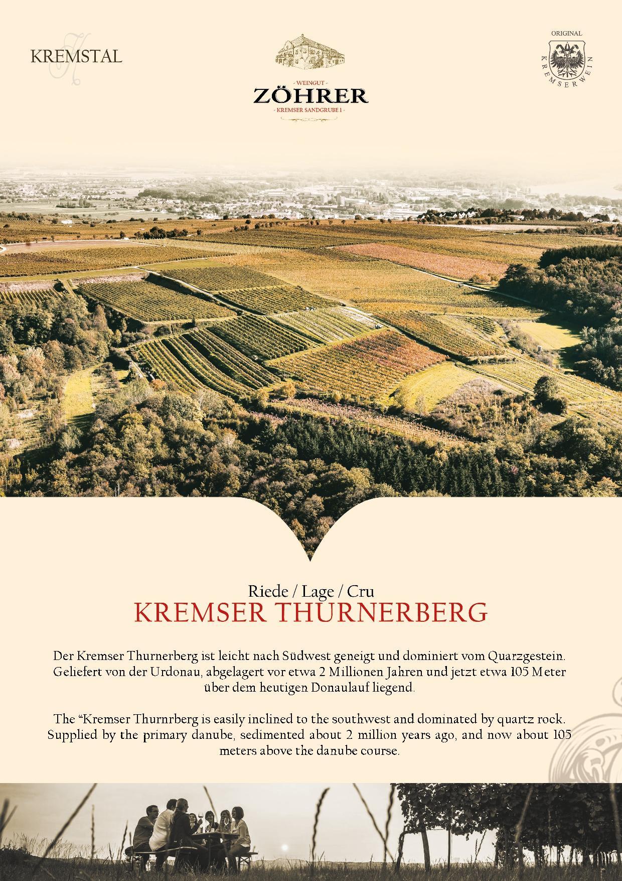 Weingut Zöhrer - Riede Kremser Thurnerberg