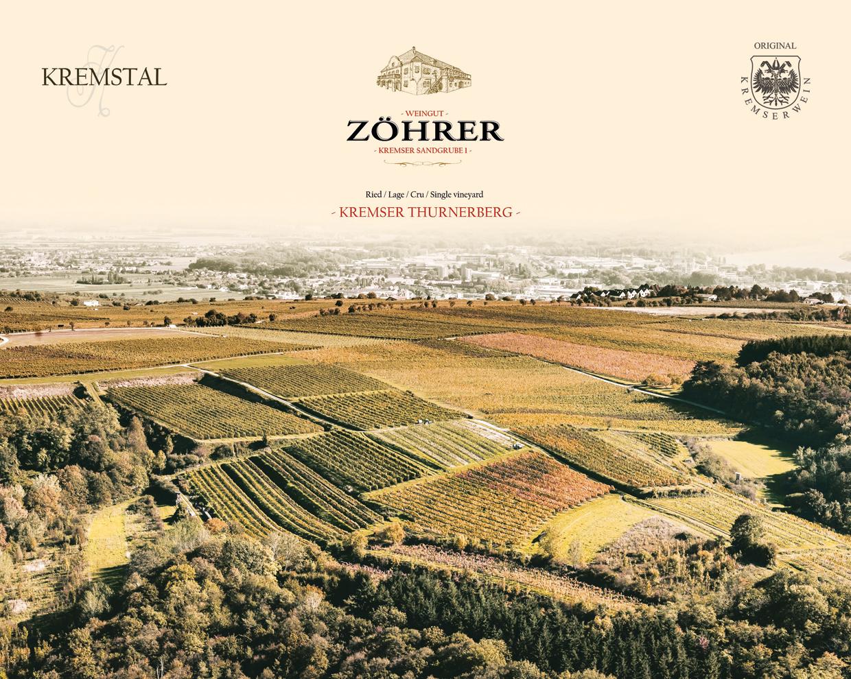 Weingut Zöhrer - Lagenfoto Kremser Thurnerberg