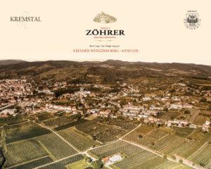 Weingut Zöhrer - Lagenfoto Kremser Weinzierlberg