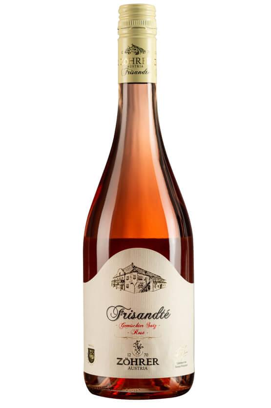 Weingut Zöhrer_FRISANDTÉ Rosé