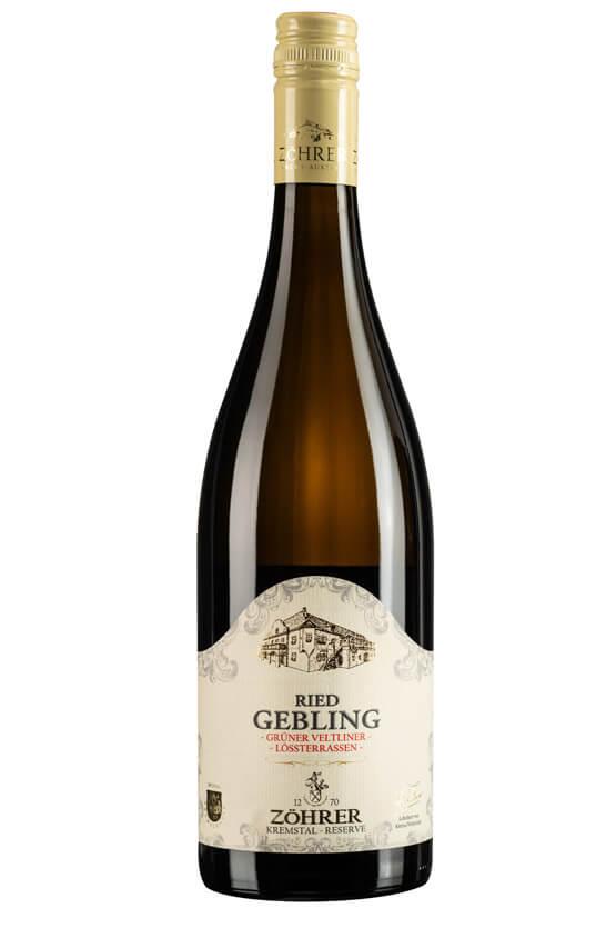 Weingut Zöhrer_Ried Gebling Grüner Veltliner