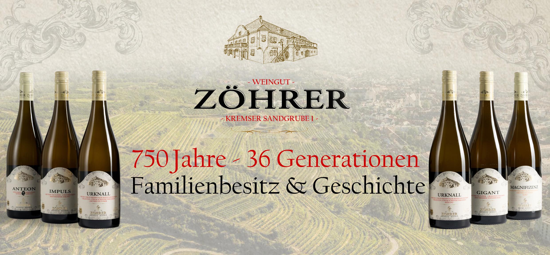 Weingut Zöhrer - Lagen