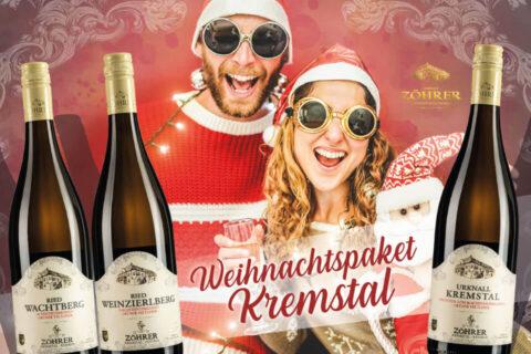 Weihnachtspaket Kremstal - Weingut Zöhrer Sandgrube Krems