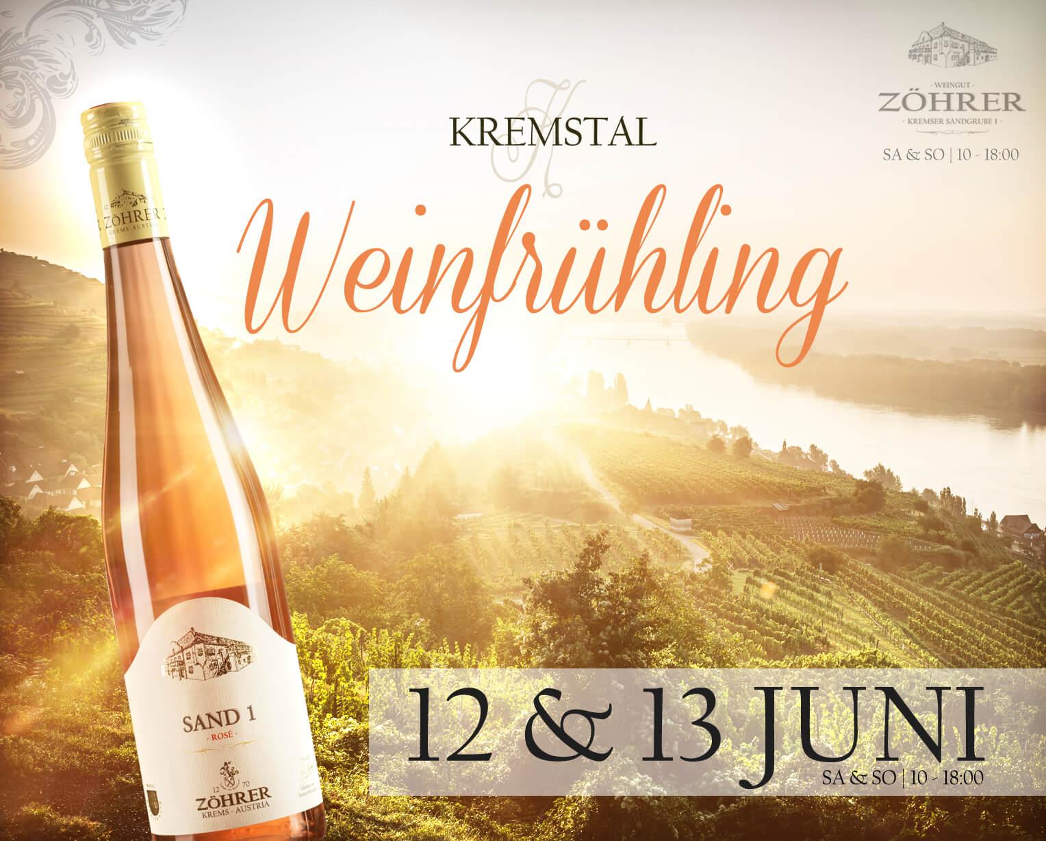 Kremstal Weinfrühling 2021